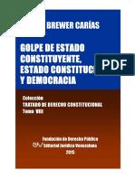 Brewer Tratado de Dc Tomo Viii 9789803652784 Txt