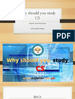 Why Should You Study CS|Superior University lahore