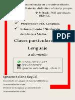 Afiche Clases PDF