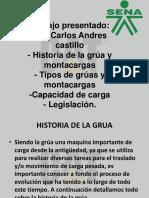 Diapositivas de Gruas y Montacargas Zabaleta