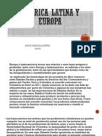 América Latina y Europa