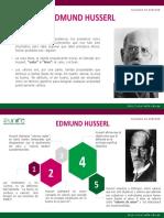 Husserl y Los Valores