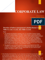 corp law