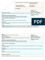 Planificacion 8º Basico ABRIL