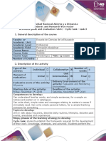 Activities Guide and Evaluation Rubric - Cycle-task - Task 3