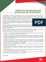 Politicas de Proteccion de Datos Personales