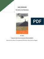 Xingjian, Gao - En torno a la literatura.doc