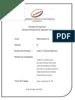 ACTIVIADA N° 08 - MATEMATICAS III