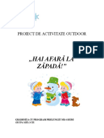 Proiect Act. Outdoor.