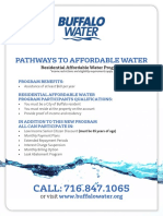 Buffalo Residential Affordable Water Program