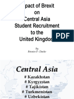 Impact of Brexit on Central Asia Student Recruitment to the United Kingdom