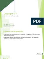 Aula 01 - Introdução a Programação em C++