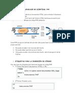 Insercción de Codigos en Las Páginas Web
