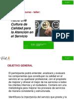 Hacia Una Cultura de Calidad 031019