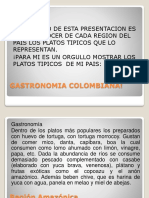 Cartilla Gastronomia Colombiana