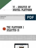 7c - Analysis Of web portal/ website ( indian express)
