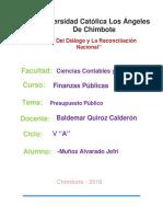 Presupuesto Publico Jefri Muñoz Alvarado