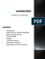 Hydro treating process ✌