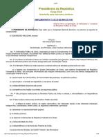 Lei orgânica MPU 75
