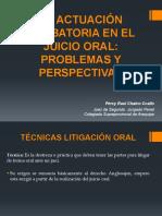 16va Sesión La Actuación Probatoria en El Juicio Oral_problemas y Perspectivas