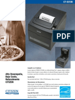 impresora citizen