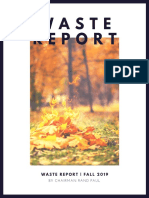 "Dr. Rand Paul's Fall 2019 Edition of ""The Waste Report"""