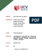 Acta de Constitución - PROJECT CHARTER