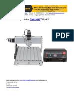Cnc 3040 t Dj Mini Cnc Manual