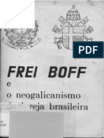 João Evangelista Martins Terra - Frei Boff e o Neogalicanismo Da Igreja Brasileira