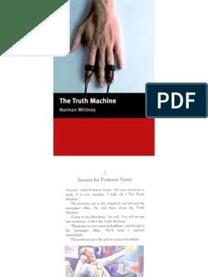 The truth machine pdf free download free