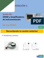 S05 - OPAM y Amplificadores de instrumentación.ppsx