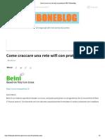 Come Craccare Una Rete Wifi Con Protezione WEP _ Tuboneblog
