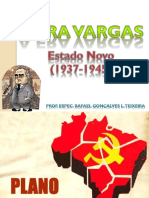 Cap - 6 O Governo de Getúlio Vargas o Estado Novo