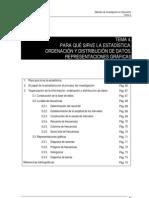 Ordenacion y Distribucion de Datoss