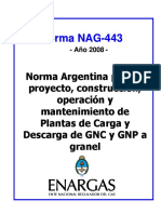 Norma Instalación Planta de Carga GNC