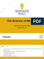 The Science of Mashing by Jamie Ramshaw