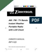 Manual Emerson