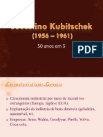 Cap 8 - Juscelino Kubitschek