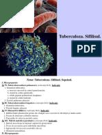11. Tuberculoza. Sifilisul. Sepsisul