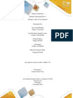 Enfoques, tipos de investigación y diseño metodológico