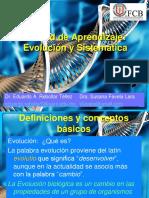 Evolución y sistemática
