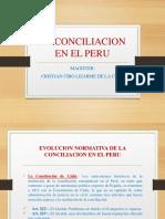 Diapositivas de conciliacion en el Peru