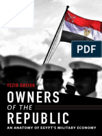Owners of the Republic An Anatomy of Egypt's Military Economy-Yezid Sayigh