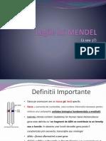 3.Legile Lui Mendel
