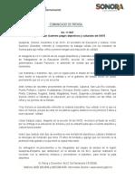 08-11-19 Inaugura Víctor Guerrero juegos deportivos y culturales del SNTE