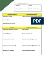 module 4 - teacher observation form - anna panova