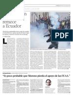 Rebelion Indigena en Ecuador