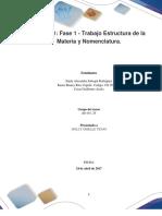 Formato Entrega Trabajo Colaborativo – Unidad 1 Fase 1 - Trabajo Estructura de La Materia y Nomenclatura_Grupo Xxx (5) (1)