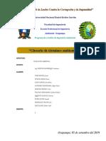 Compedio Grupal-términos Ambientales