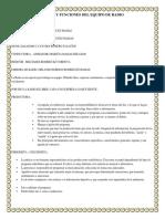 Roles y Funciones Del Equipo de Radio